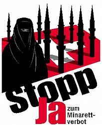 La Islamización de Europa: Suiza dice NO a los minaretes